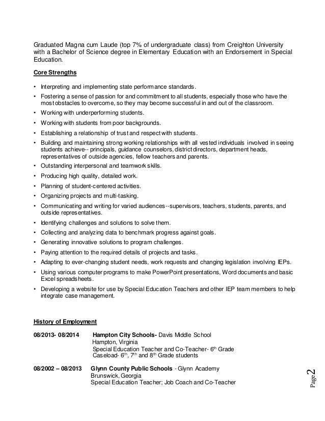 Resume Nov 2014