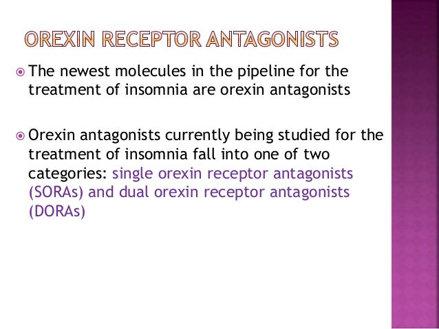 Orexin Receptors And Their Potential As Drug Targets