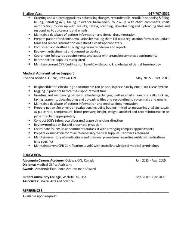 Moa Resume Resume Ideas