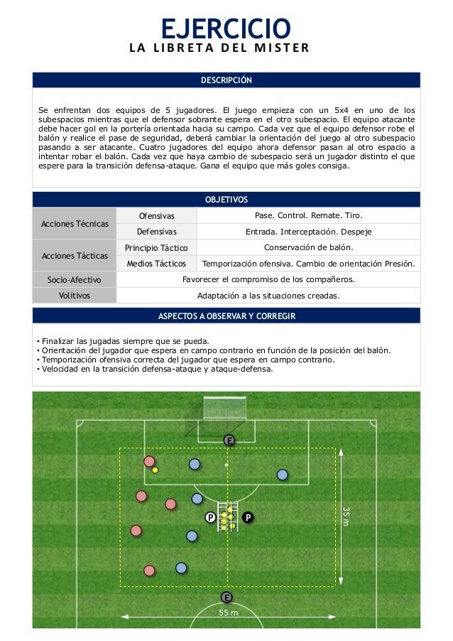 EJERCICIO  L A  L I B R E T A  D E L  M I S T E R  DESCRIPCIÓN  Se enfrentan dos equipos de 5 jugadores. El juego empieza ...