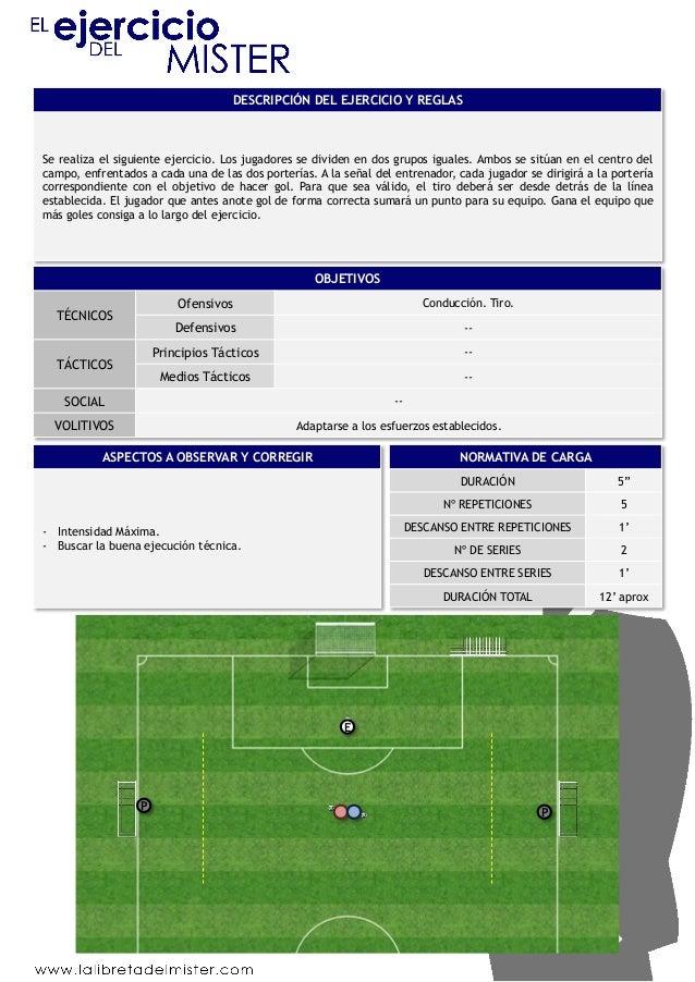DESCRIPCIÓN DEL EJERCICIO Y REGLAS  Se realiza el siguiente ejercicio. Los jugadores se dividen en dos grupos iguales. Amb...
