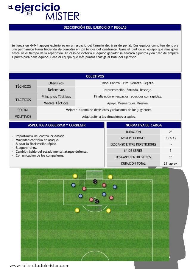 98 ejercicios de entrenamiento de futbol