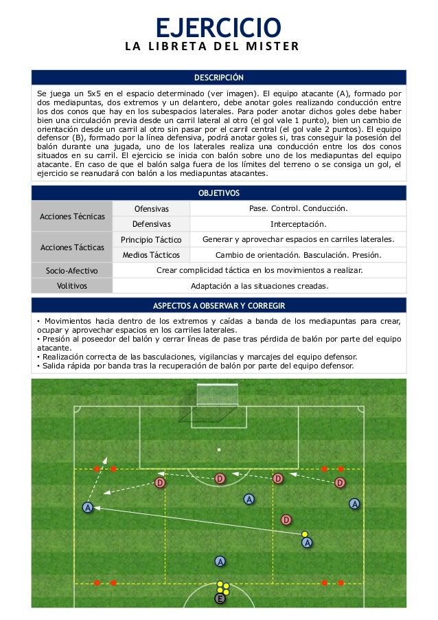 5db0b5b323cf8 98 ejercicios de entrenamiento de futbol (La libreta del mister)