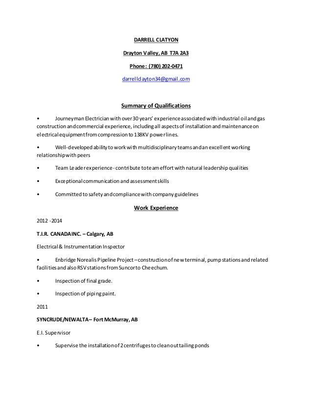 resume 2015