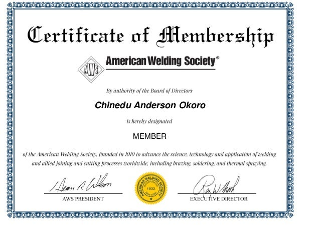 anderson american welding society cert