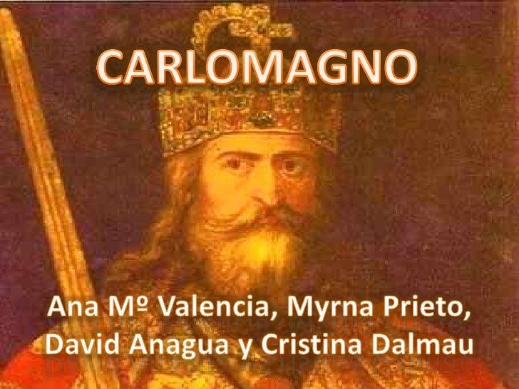 CARLOMAGNO<br />Ana Mº Valencia, Myrna Prieto, David Anagua y Cristina Dalmau<br />