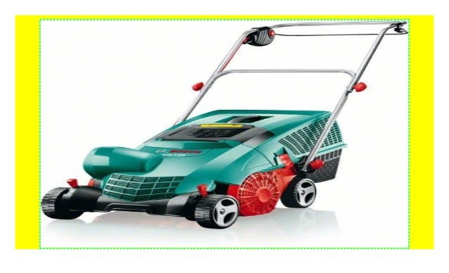Karton 1100 W, 32 cm Arbeitsbreite, 50 l Fangkorbvolumen Fangkorb Bosch Vertikutierer AVR 1100