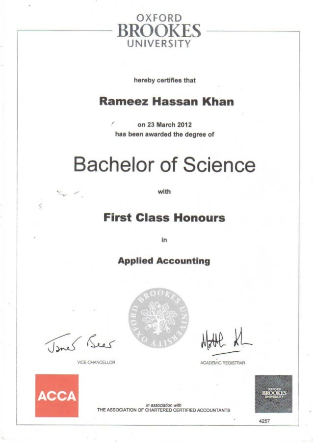 Bsc Hons Applied Accountancy