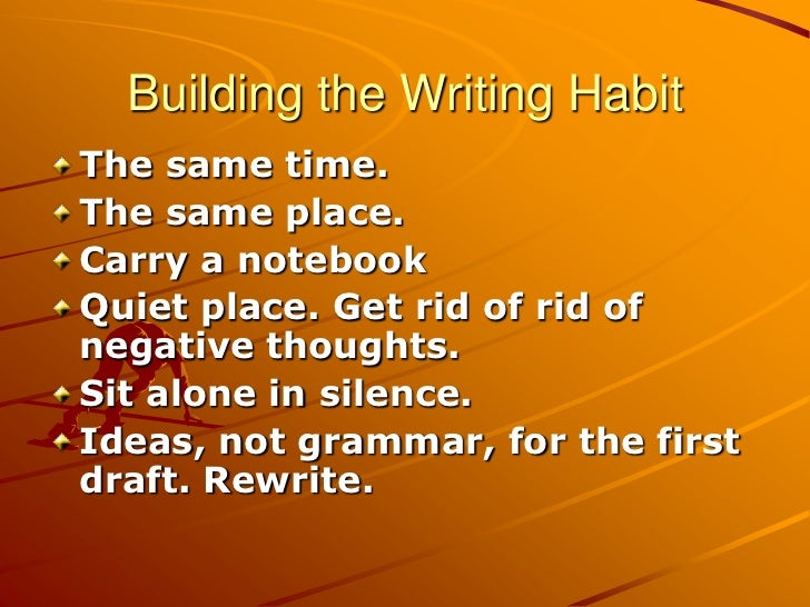 reading writing habits essay The home of the center on english learning and achievement writing and reading in the content areas, essay writing was found to be more beneficial than.