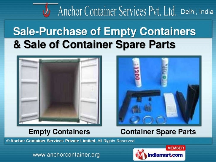 Anchor Container Services Private Limited Delhi India