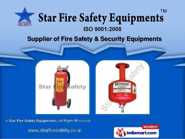 Supplier of Fire Safety & Security Equipments