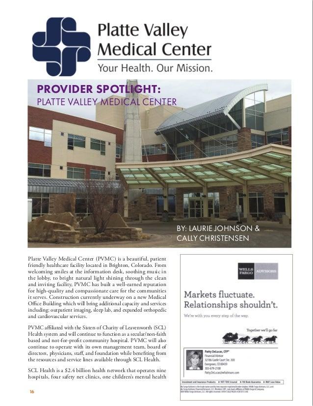 COHFMA Q4 Provider Spotlight = Platte Valley Medical Center