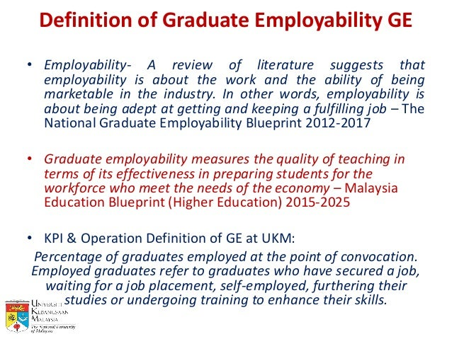 Education nation conference slides graduate employability ukm prabha definition malvernweather Image collections