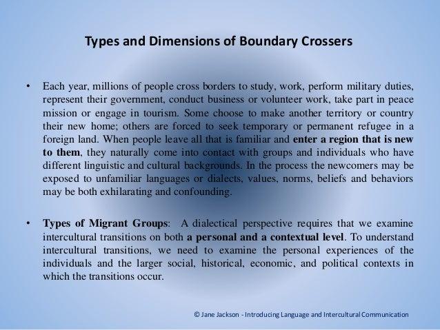 understanding intercultural transition Part i foundations of intercultural communication chapter 1 why study intercultural communication understanding intercultural transitions chapter 9.