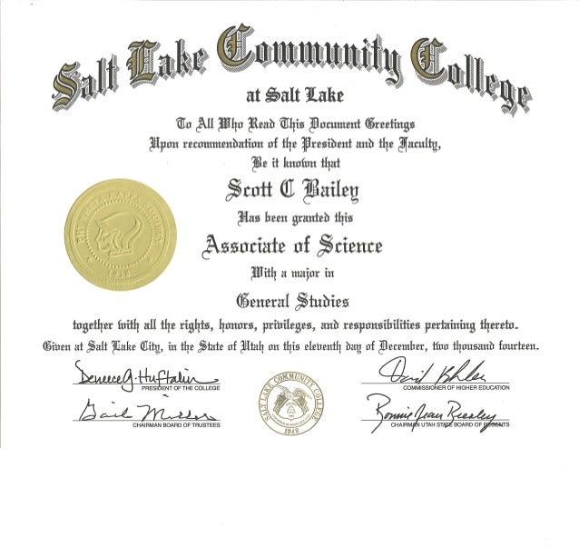 SLCC Associates Degree