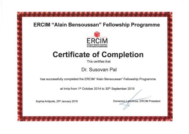 certificate postdoc slideshare inria upcoming