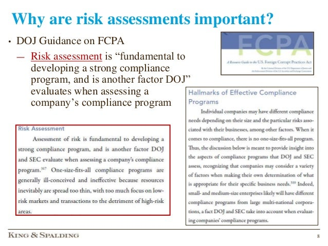 Keeping house compliance risk assessment medical device summitpptx 7 8 pronofoot35fo Images