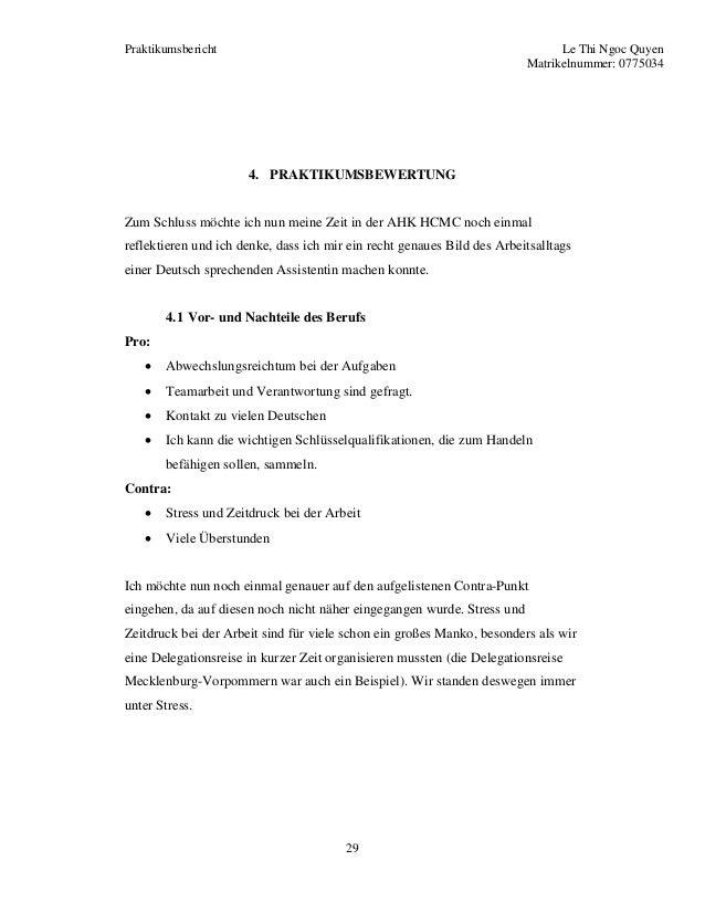 Praktikumsbericht Ahk Hcmc