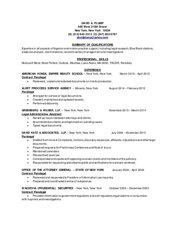 Arial Resume 2015