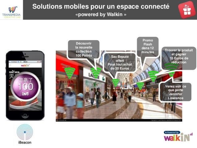 Solutions mobiles pour un espace connecté «powered by Walkin » Venez voir ce que porte Jennifer Lawrence Sac Beauté offert...