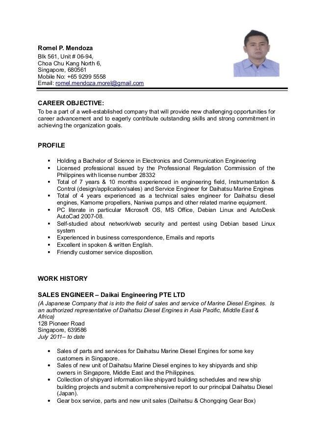 romel resume