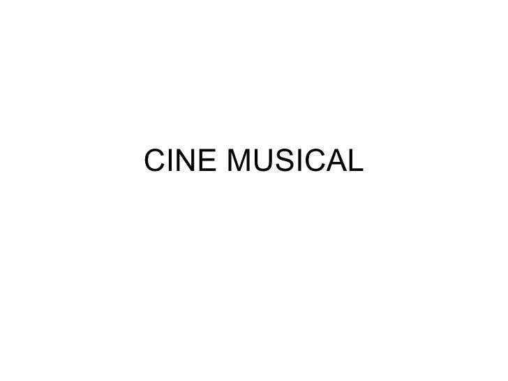 CINE MUSICAL