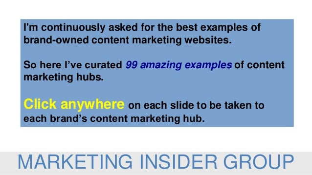 I'm continuously asked for the best examples of brand-owned content marketing websites. So here I've curated 99 amazing ex...