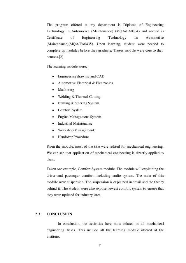 indsutrial attachment report rh slideshare net