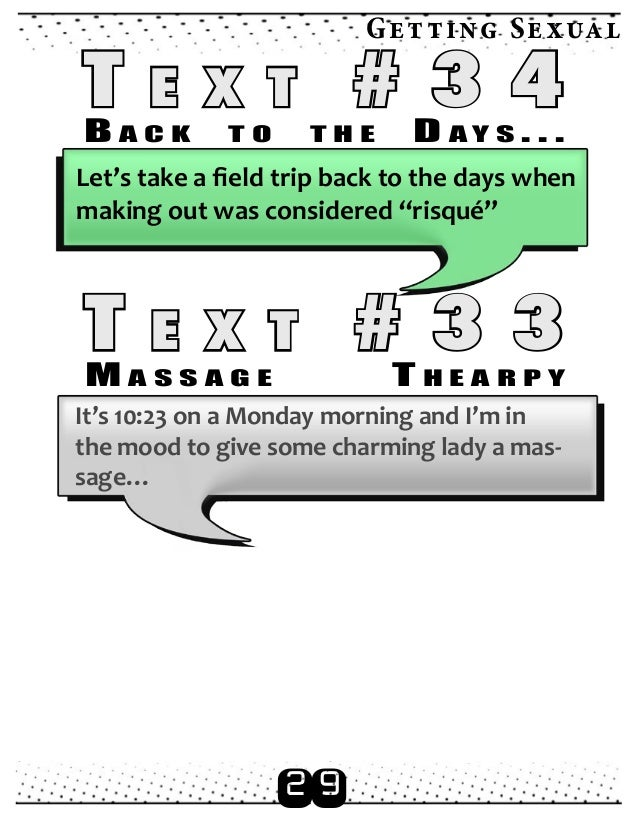 dirty text messages to send to a girl