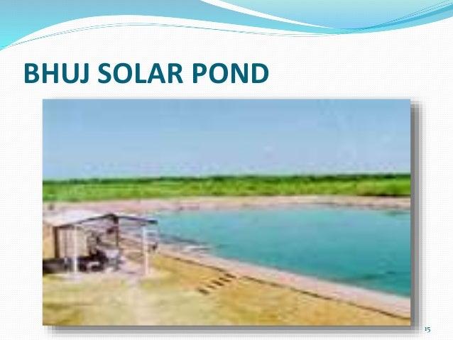Solar Pond Technology