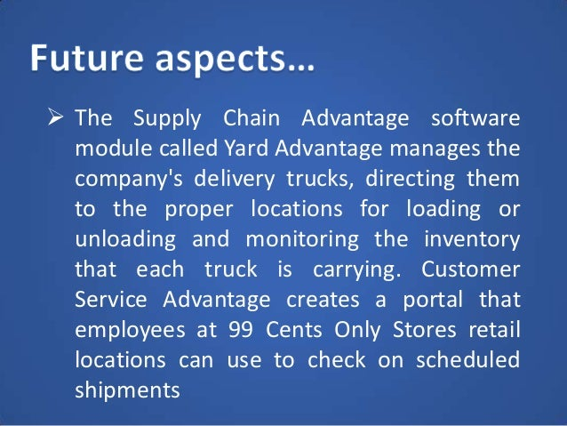 Question 1Analyze 99 Cents Only Stores Using The Value Chain And Competitive Forces Models