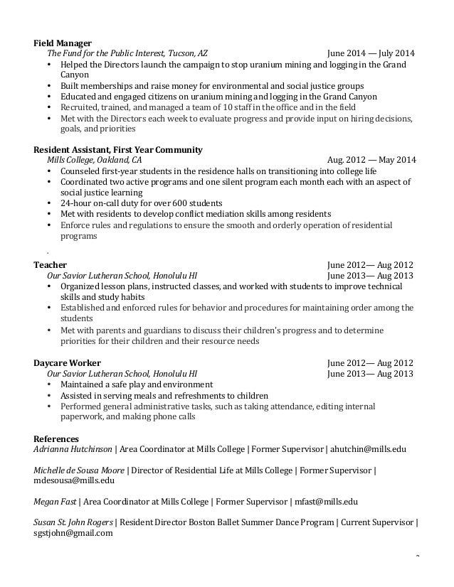 SlideShare  Resume For A Student