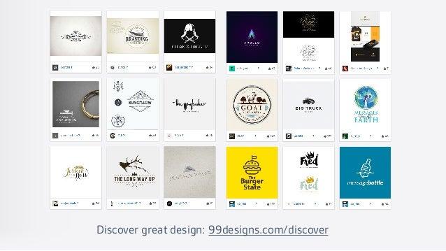 Discover great design: 99designs.com/discover