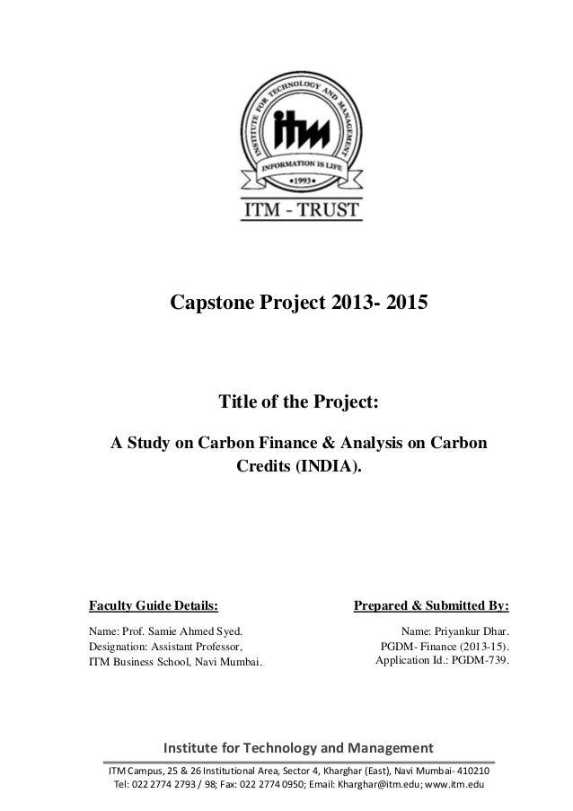 management project titles