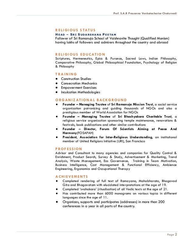 About Chairman (SRMT) Slide 2