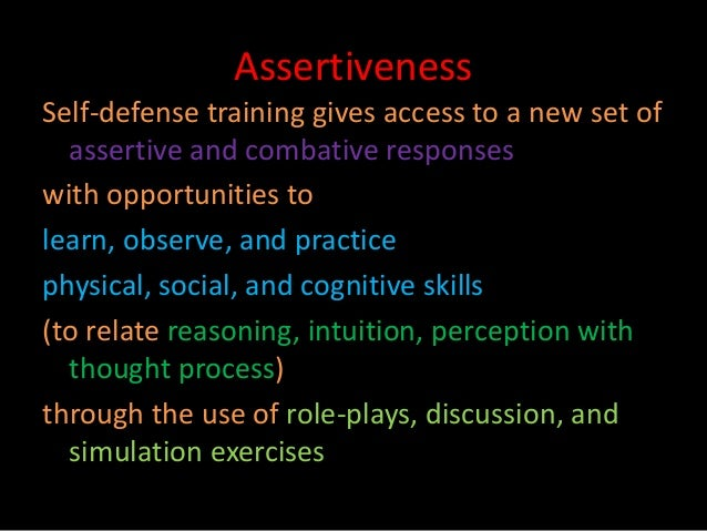 Assertiveness • Research ...