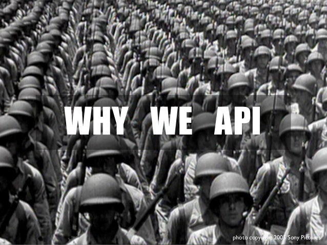 WHY WE API          photo copyright 2005 Sony Pictures
