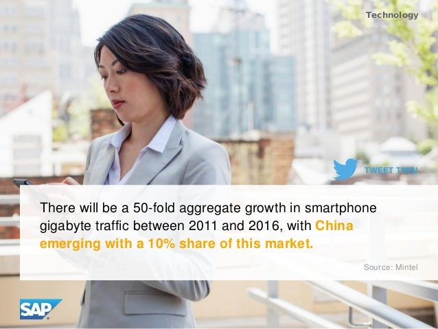 There will be a 50-fold aggregate growth in smartphone gigabyte traffic between 2011 and 2016, with China emerging with a ...