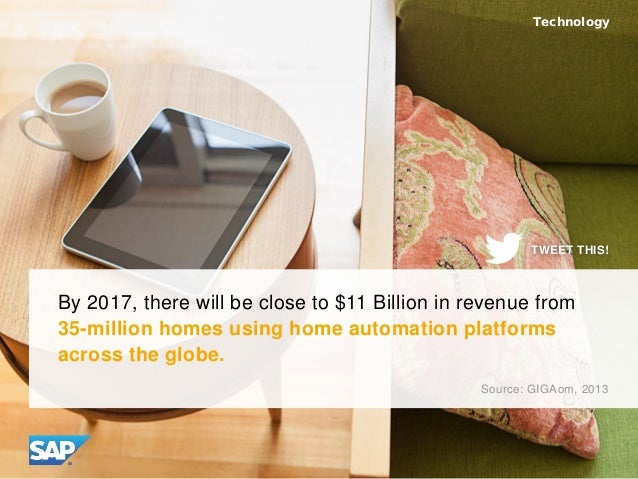 By 2017, there will be close to $11 Billion in revenue from 35-million homes using home automation platforms across the gl...