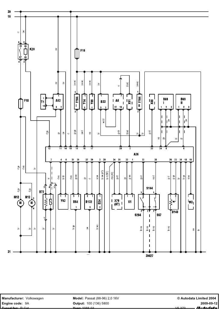 Wiring Diagram 2001 Volkswagen Cabrio - Tools •