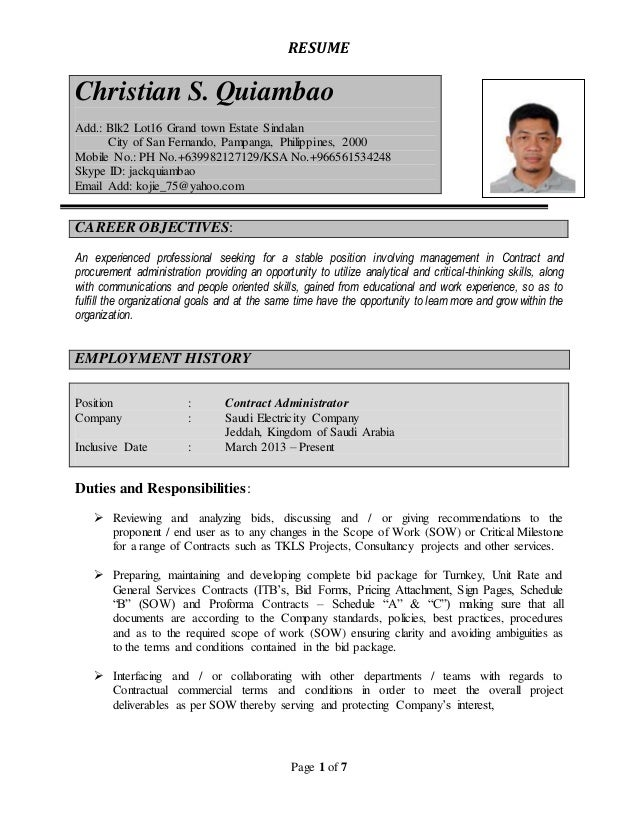 updated resume 2016