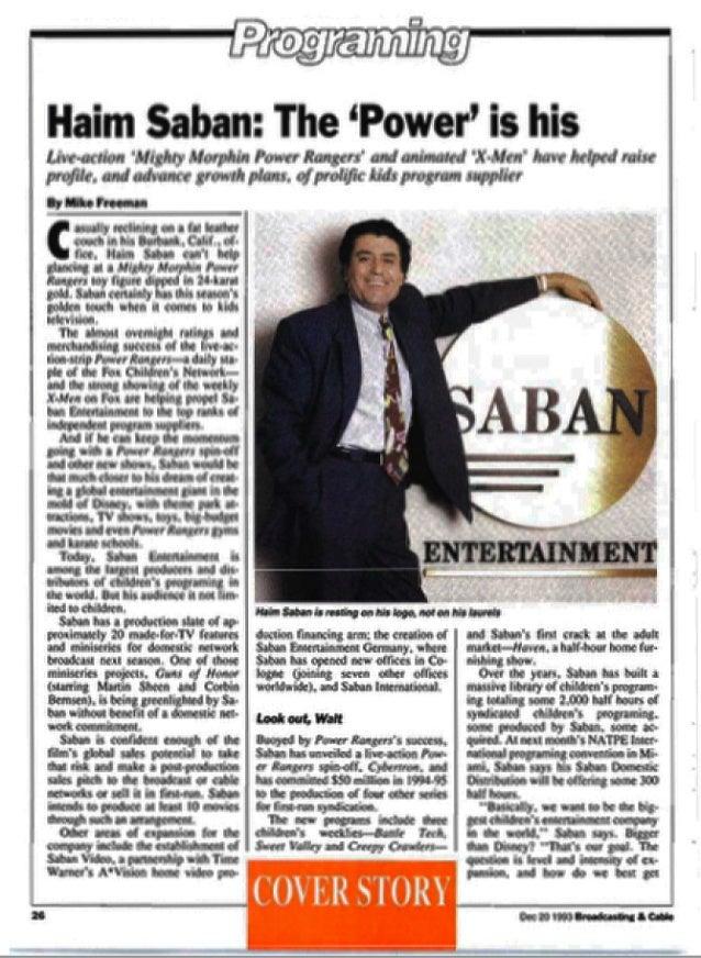 Haim Saban (Ent)_cover feature_B&C_122093 Slide 2