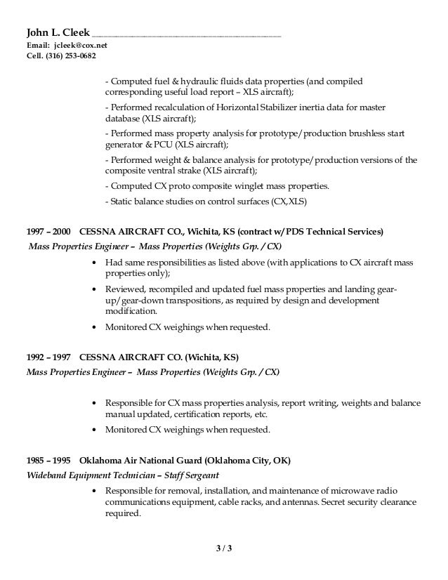 Cute Wichita Engineering Resume Photos - Resume Ideas - bayaar.info
