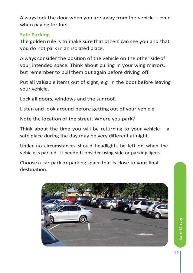 Department of motor vehicles handbook for Motor vehicle drivers test