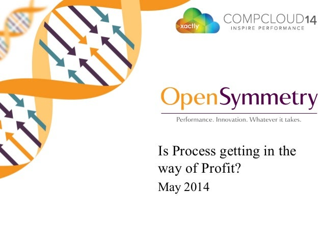 Is Process getting in the way of Profit? May 2014