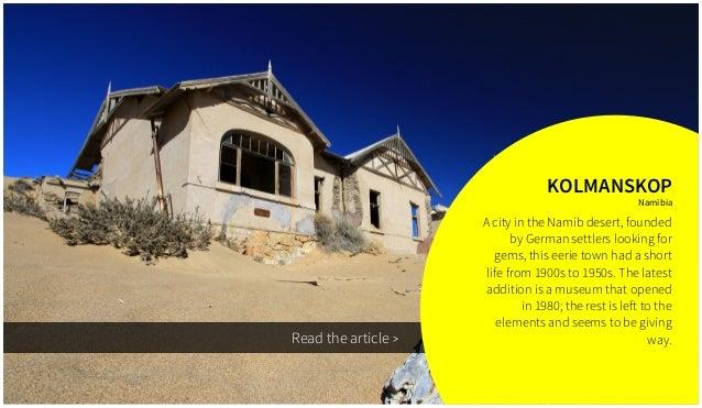 9 abandoned places around the world Slide 2