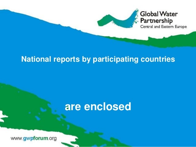 National reports by participating countries  are enclosed