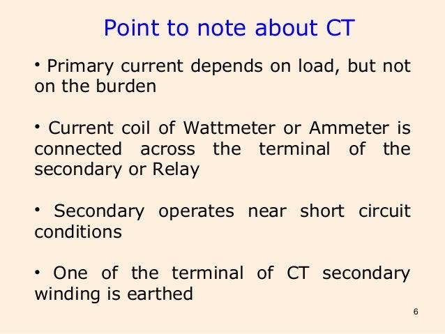 Instrument transformer CT & PT