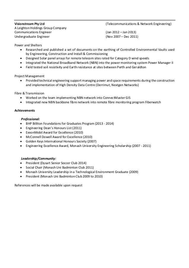 resume 2016