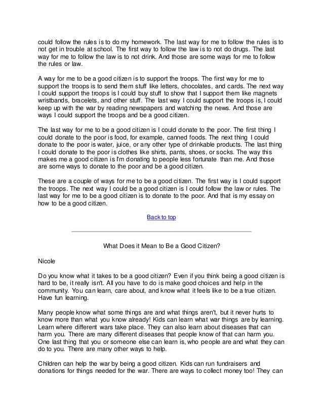 background essay sample